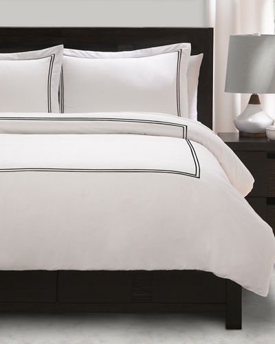 3-Piece Satin-Stitched Duvet Set, King/California King