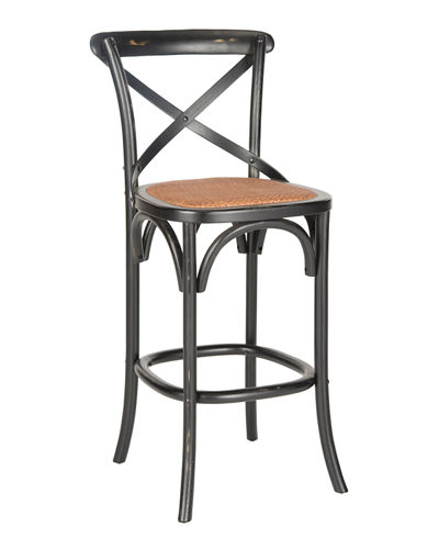Franklin X-Back Bar Stool