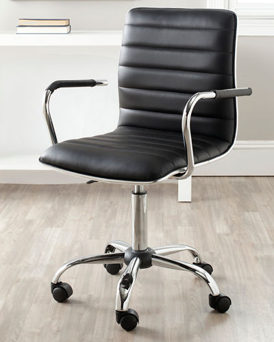 Jonika Faux Leather Desk Chair