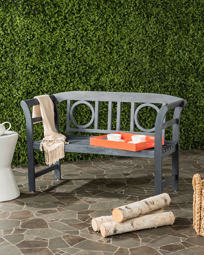 Moorpark Outdoor 2-Seat Bench