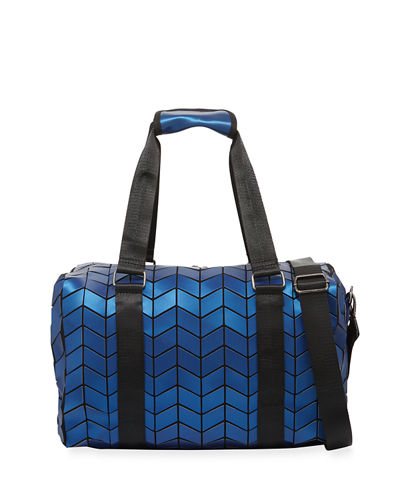 Geometric Tiled Weekender Travel Bag
