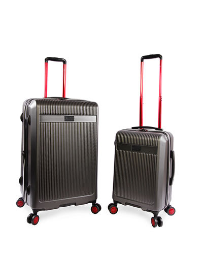 Expandable Hardside Spinner Luggage, Set of 2