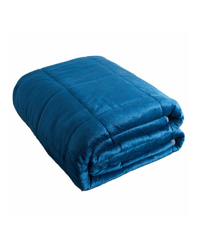 15-Pound Plush Weighted Blanket  48 x 72