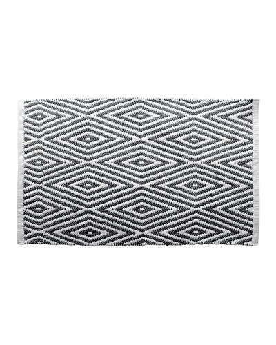 Oxford Chevron Cotton Bath Rug