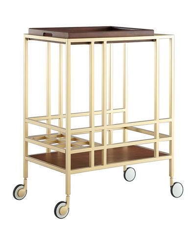Cast Iron Bar Cart