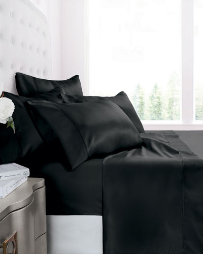 Italian 4-Piece Satin California King Sheet Set