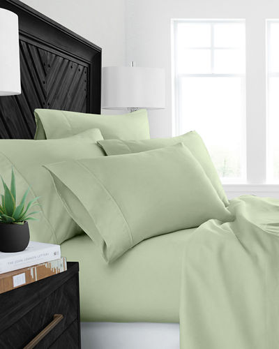 Restoration 4-Piece Aloe Vera King Sheet Set