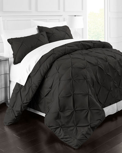 Park Hotel 2-Piece Pinch-Pleat Twin Duvet Cover Set