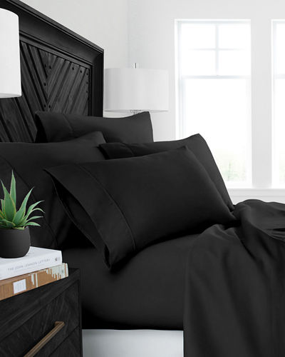 Restoration 4-Piece Aloe Vera Queen Sheet Set