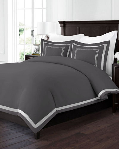 Restoration 2-Piece Embroidered Twin Duvet Cover Set