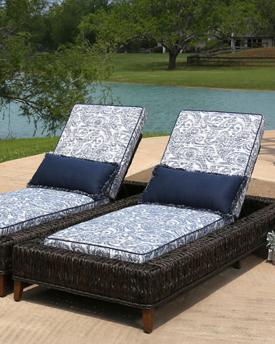 Allure 3-Piece Outdoor Chaise Lounge Set