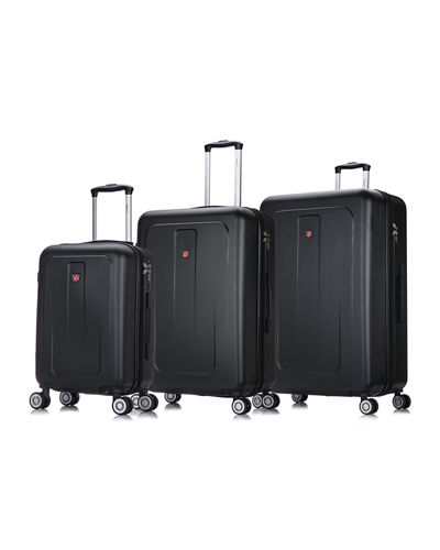 Crypto 3-Piece Hardside Spinner Luggage Set