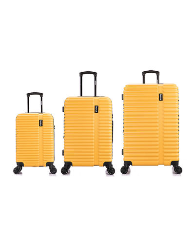 Ally 3-Piece Lightweight Hardside Spinner Luggage Set
