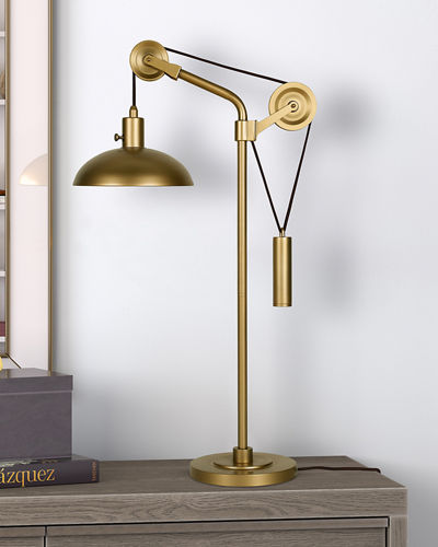 Neo Pulley Table Lamp
