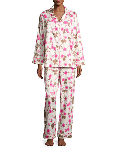 Printed Two-Piece Pajama Set
