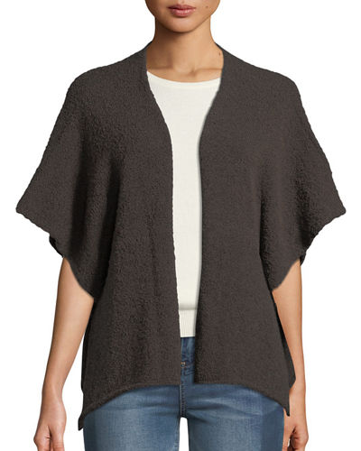 Eskandar Stretch-Wool Tabard Cardigan