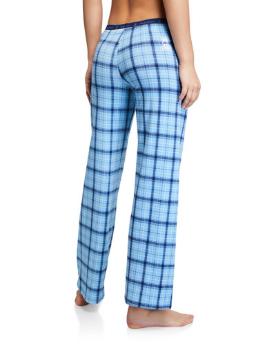 Plaid Knit Lounge Pants