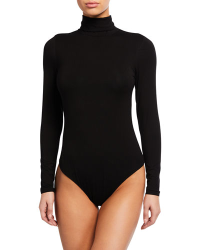 Long-Sleeve Turtleneck Bodysuit