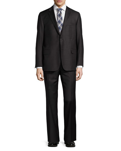 Hickey Freeman Classic-Fit Two-Button Suit