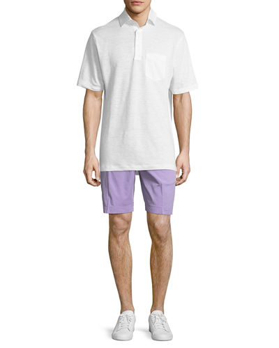 Stretch-Twill Signature Chino Shorts