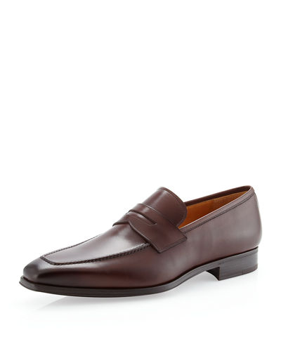 Magnanni for Neiman Marcus Slip-On Penny Loafer