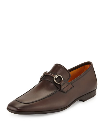Leather Bit Loafer