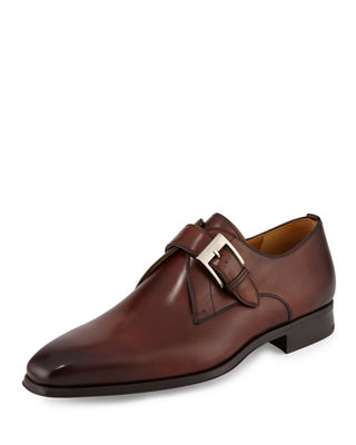 COLLECTION BY MAGNANNI Smooth Leather Loafers