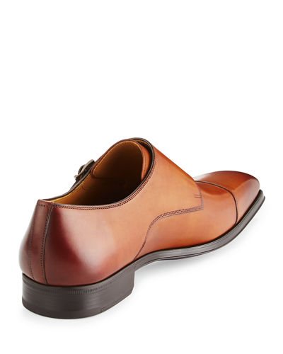 Vekio Leather Monk-Strap Oxford