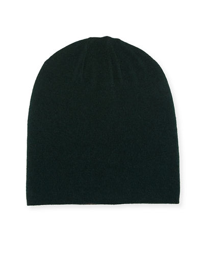 Reversible Soft Knit Beanie Hat