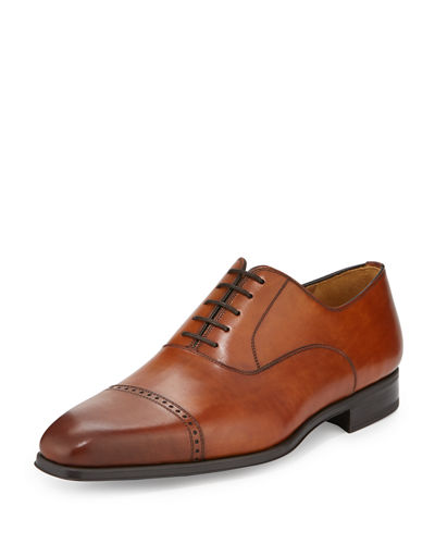 Men's Wolden Lace-Up Leather Oxford