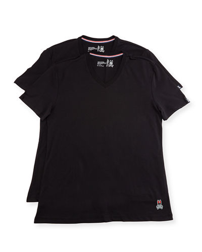 Tagless Two-Pair V-Neck T-Shirt