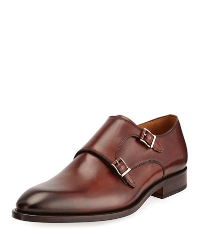 Hand Antiqued Calf Leather Oxford