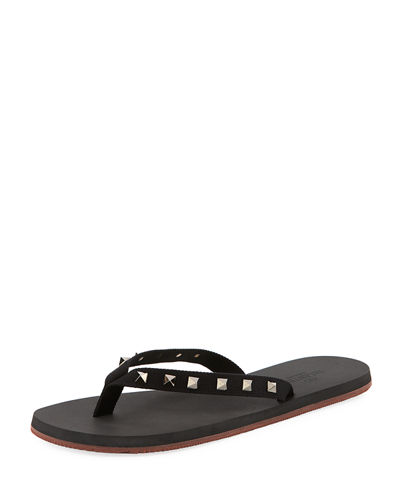 Men's Rockstud Thong Sandal
