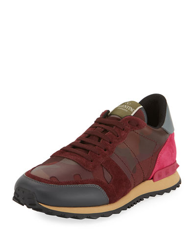Rockstud Camouflage Men's Trainer Sneakers