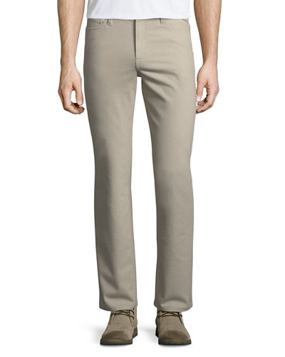 Cotton-Blend Five-Pocket Golf Pants