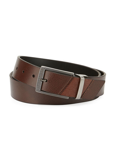 Robert Graham Leather Reversible Belt
