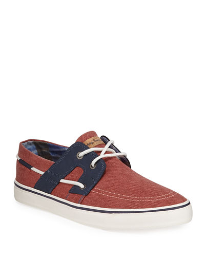 Stripes Asunder Fabric Sneaker
