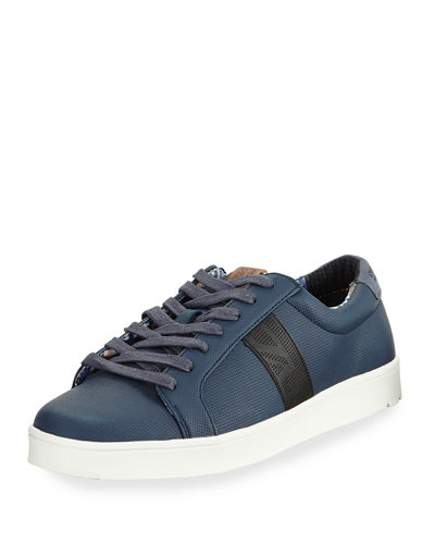 Ashton Union Jack Low-Top Sneaker