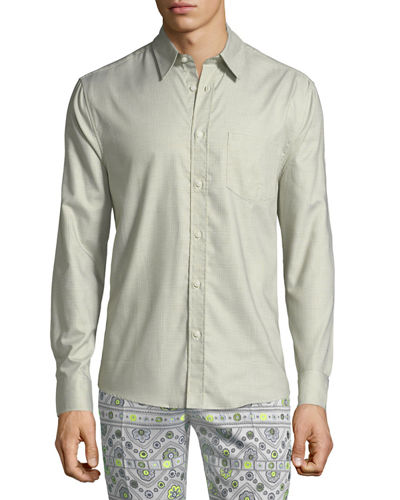 Aaron Patch-Pocket Sport Shirt