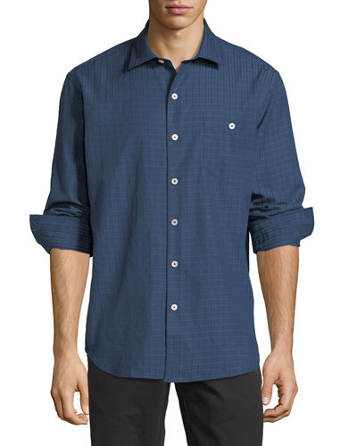 Aloha Isles Long-Sleeve Sport Shirt