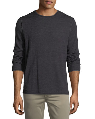 Wool-Blend Crewneck Sweater