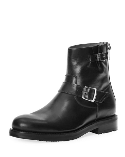 Brayden Leather Engineer Boot
