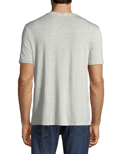 V-Neck Short-Sleeve Lounge T-Shirt