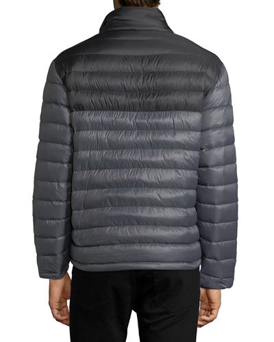 Quilted Puffer Pullover Jacket