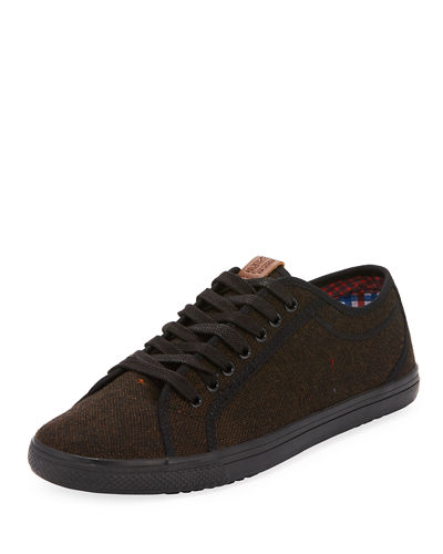 Conall Lo Low-Top Canvas Sneaker