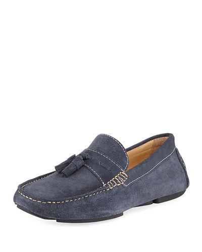 Veep Men's Suede Driving Loafer