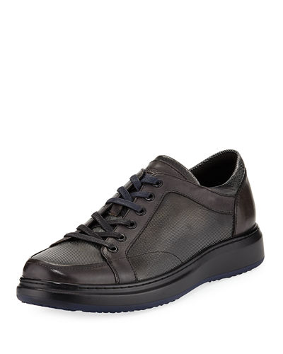 Men's Smooth & Embossed Sneakers