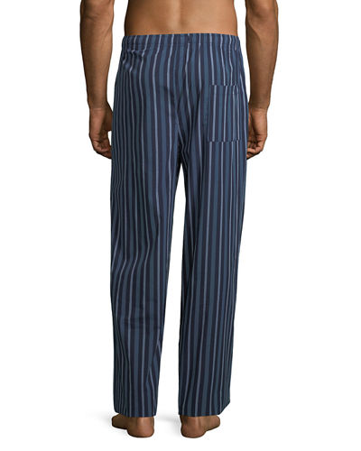 Woven Lounge Pants with Logo