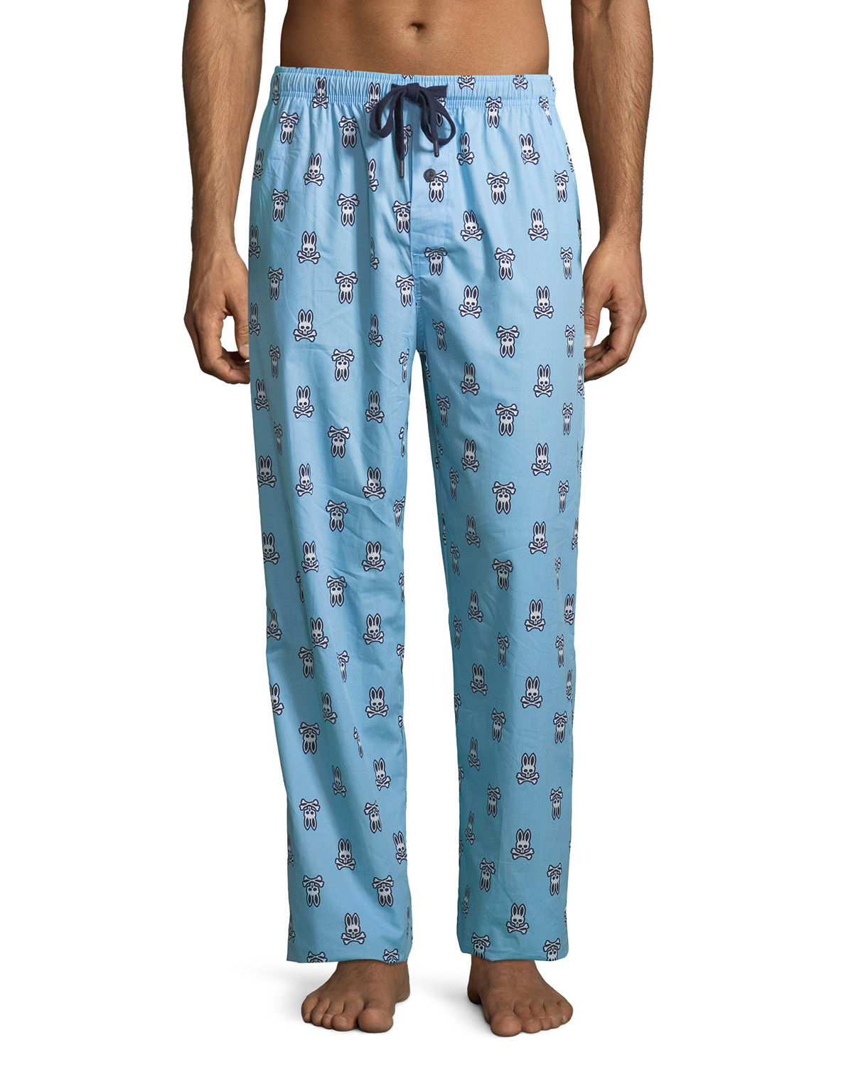 Woven Lounge Pants with...