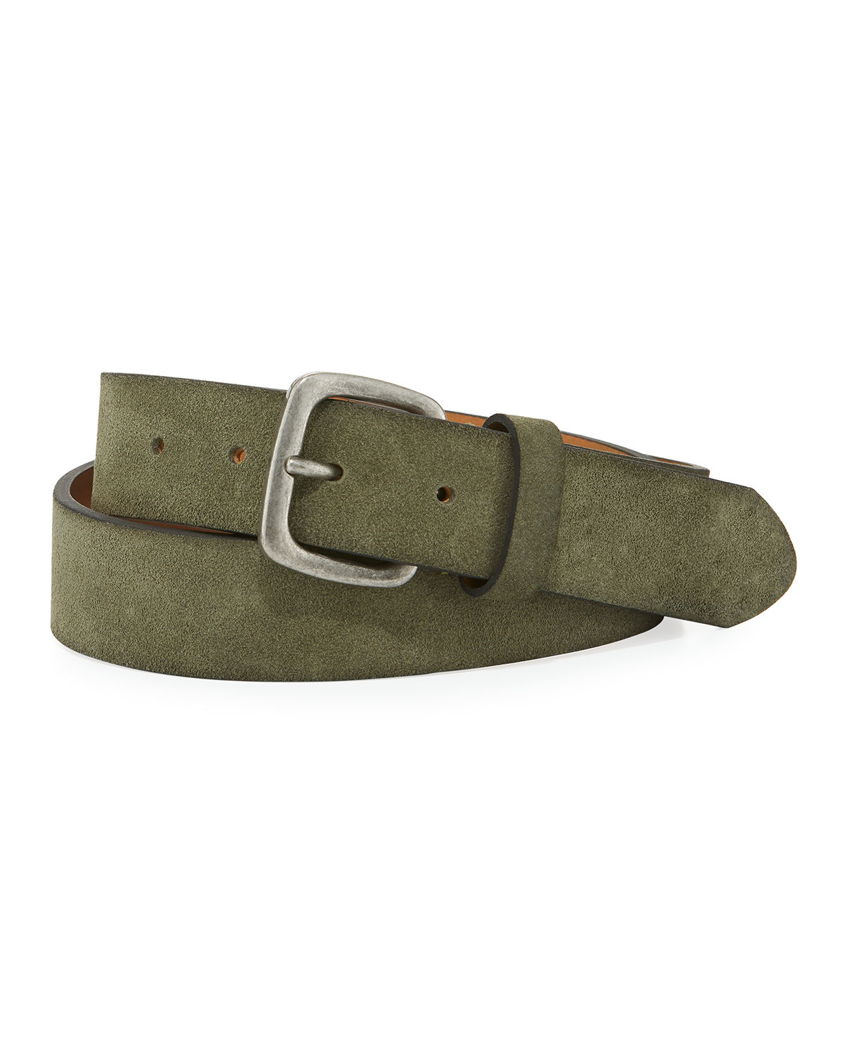 Washed Suede 35mm Belt...